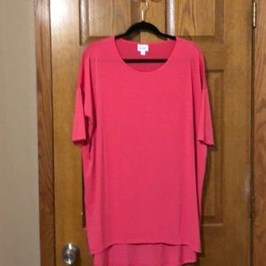 Hot Pink LuLaRoe Irma Top